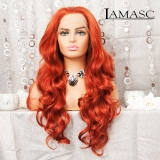 Lace Front Perücke 16 Rot