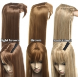 Topper Toupee Haarteil Light Brown