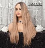 Perücke 16 Blond Gerade Haare