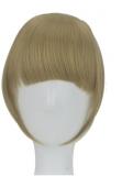 Pony Fransen Dunkel Blond 8
